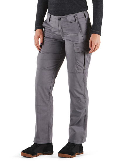 5.11 Women's Tactical Stryke Pant in Storm with cargo pockets