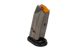 The FN America FNS-9C Magazine holds 10 rounds of 9mm ammunition