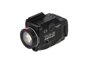 The TLR-8 features a low-profile design that resists snagging