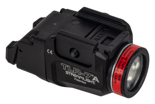 Streamlight TLR-7A FLEX weapon light 500 Lumens includes a high and low activation switch