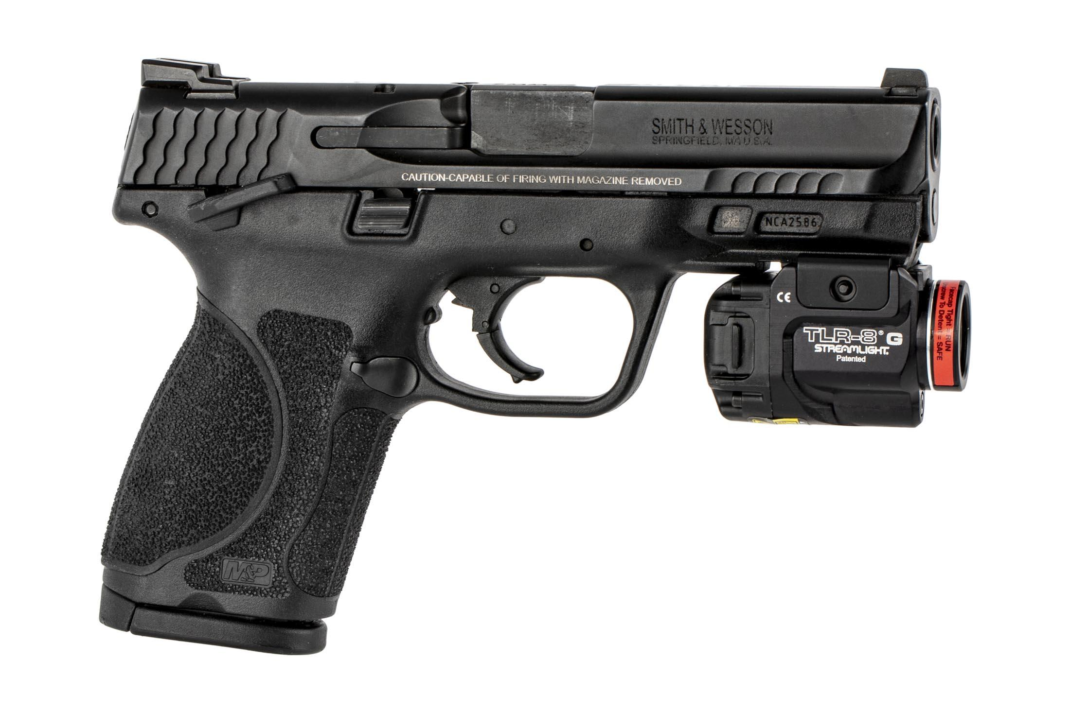 Streamlight Tlr 8 Weapon Light With Green Laser 69430