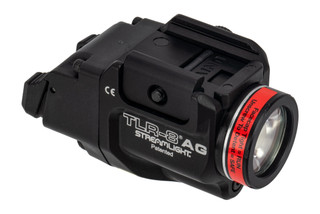 Streamlight TLR-8AG FLEX weapon light and green laser combo features high and low activation switches
