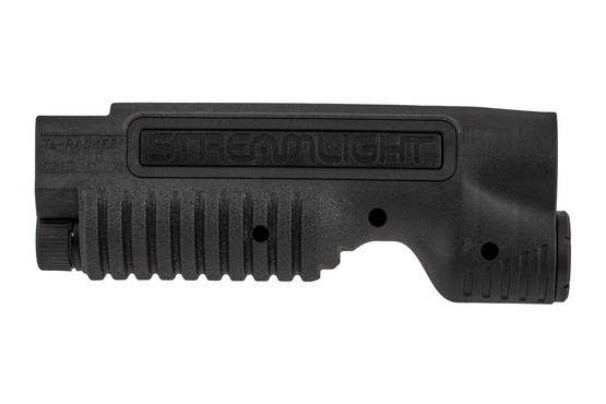 The Streamlight TL Racker Mossberg 590 weapon light forend is molded from impact resistant Nylon
