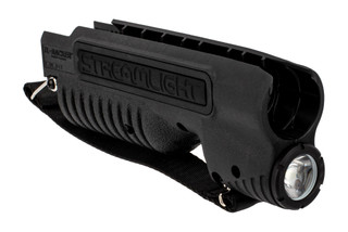 Streamlight TL Racker 850 lumen weapon light fore end with stap fits Mossberg 590 Shockwave.