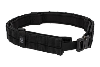 The Grey Ghost Gear UGF Battle Belt is constructed from black Cordura and comes with a Cobra buckle