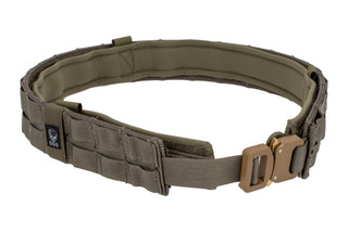 The Grey Ghost Gear UGF Battle Belt Medium Ranger Green features loop attachments and a Cobra buckle