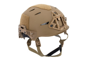 Team Wendy EXFIL Carbon Bump Helmet Rail 3.0 Size 1 M/L in Coyote Brown features a carbon fiber shell