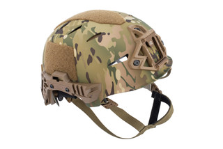Team Wendy EXFIL Carbon Bump Helmet Rail 3.0 XL in MultiCam features a carbon fiber shell