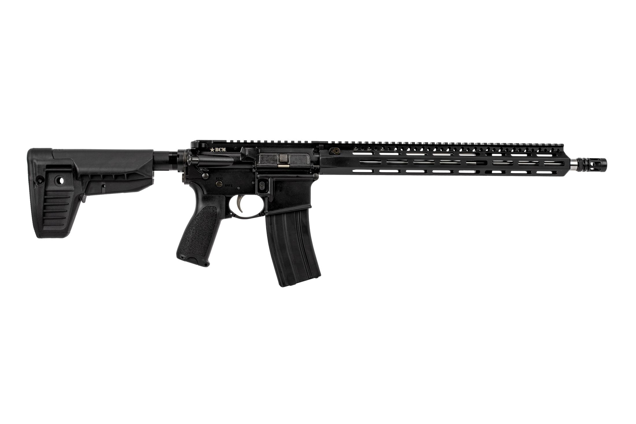 Bravo Company USA RECCE-16 precision rifle features the MCMR free float M-LOK handguard