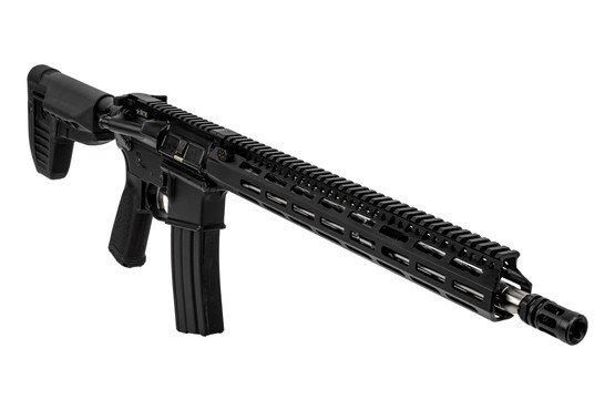 Bravo Company RECCE-16 MCMR precision AR15 rifle features a 410 stainless steel barrel