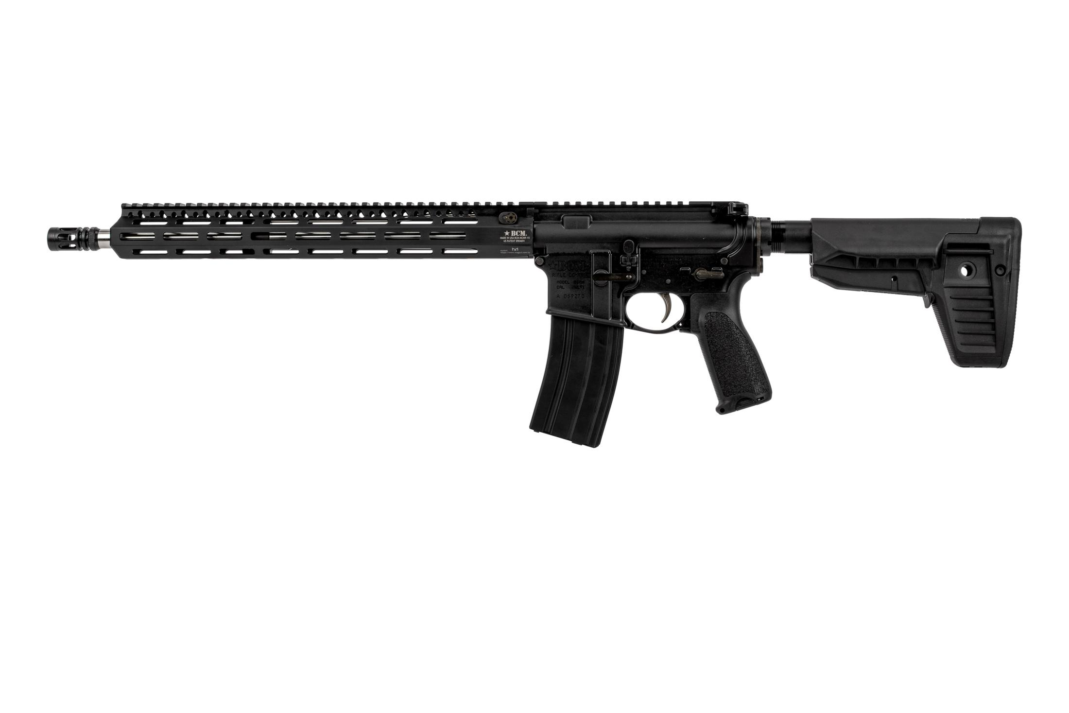 Bravo Company Manufacturing RECCE 16 precision rifle features a mid-length gas system