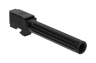CMC Triggers Glock 17 Fluted 9mm barrel with black DLC finish