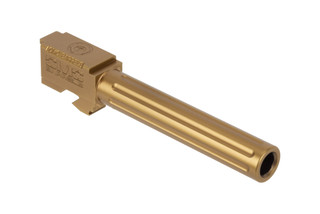 CMC Triggers Glock 17 Fluted 9mm barrel with Bronze TiCN finish
