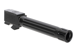 CMC Triggers Glock 19 threaded Fluted 9mm barrel with black DLC finish