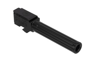 CMC Triggers Glock 19 Fluted 9mm barrel with black DLC finish