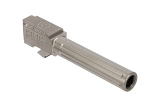 CMC Triggers Glock 19 Fluted 9mm barrel with bead blasted stainless finish