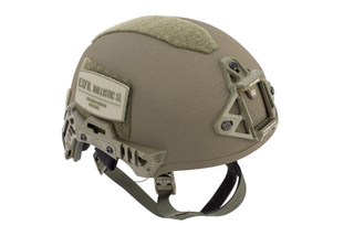 Team Wendy EXFIL Ballistic SL Helmet in ranger green is NIJ level 3a rated