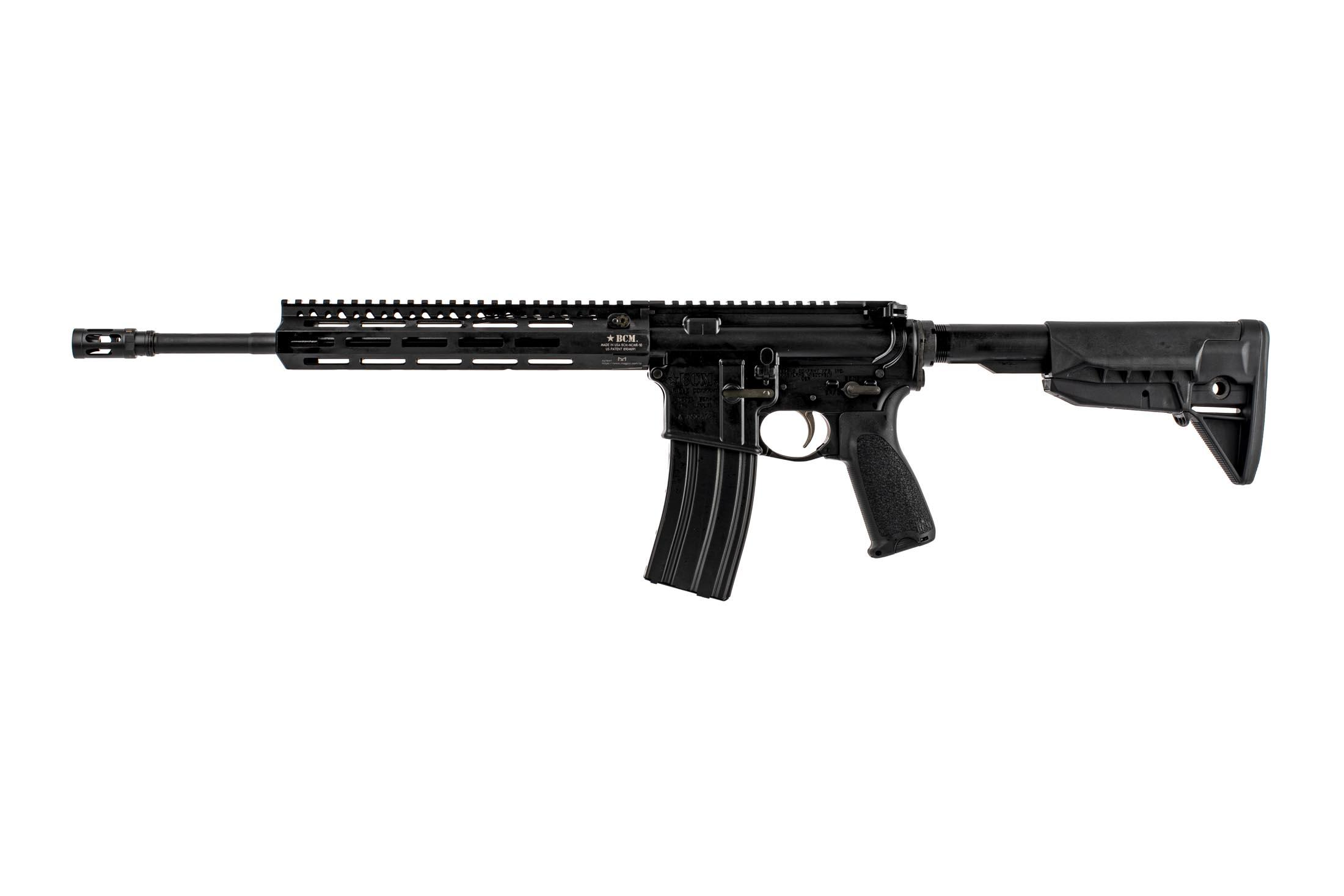 Bravo Company Manufacturing 14.5 RECCE-14.5 M-LOK lightweight rifle with mid-length gas system and BCM PNT trigger