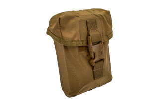 The North American Rescue IPOK Holder is made from coyote brown 500D Cordura
