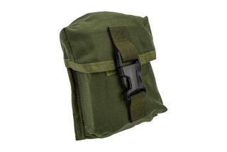 The North American Rescue OD Green IPOK Holder is made from durable 500 D Cordura