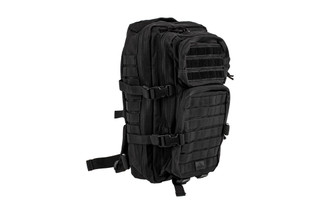 Red Rock Outdoor Gear Black Assault Pack is made from a durable Nylon material