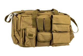 The Red Rock Outdoor Gear Operations Duffle Bag Coyote is made from durable Nylon