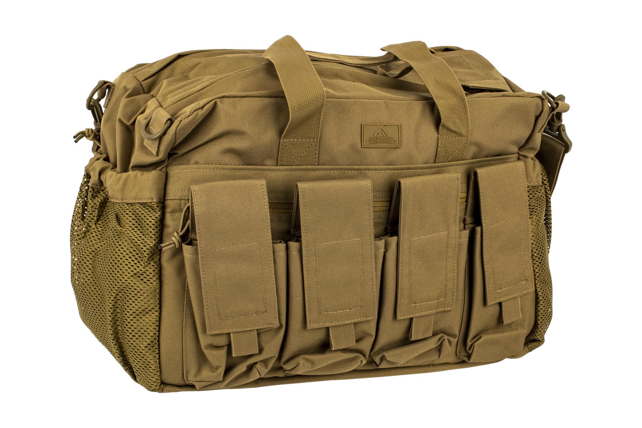 ff06e3f0de74 Red Rock Outdoor Gear Deluxe Range Bag - Coyote