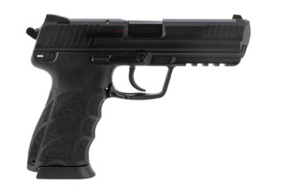 Heckler and Koch HK45 pistol features a 10 round mag capacity