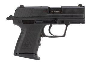 HK P2000sk 9mm sub compact pistol features a hammer fired mechanism