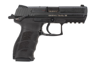 HK P30S 9mm compact pistol features a 10 round magazine