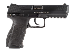 Heckler and Koch P30L 40 S&W pistol features a manual safety lever