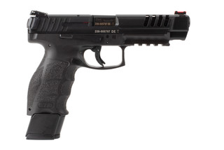 Heckler and koch vp9sl-b 9mm pistol features fiber optic sights
