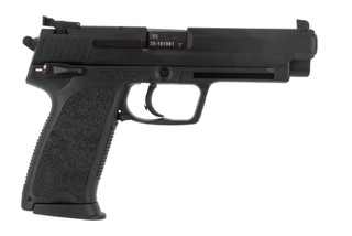 HK USP Expert 45 ACP pistol features adjustable target sights
