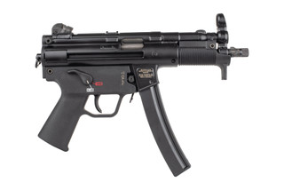 HK SP5K PDW features an ultra short barrel and handguard