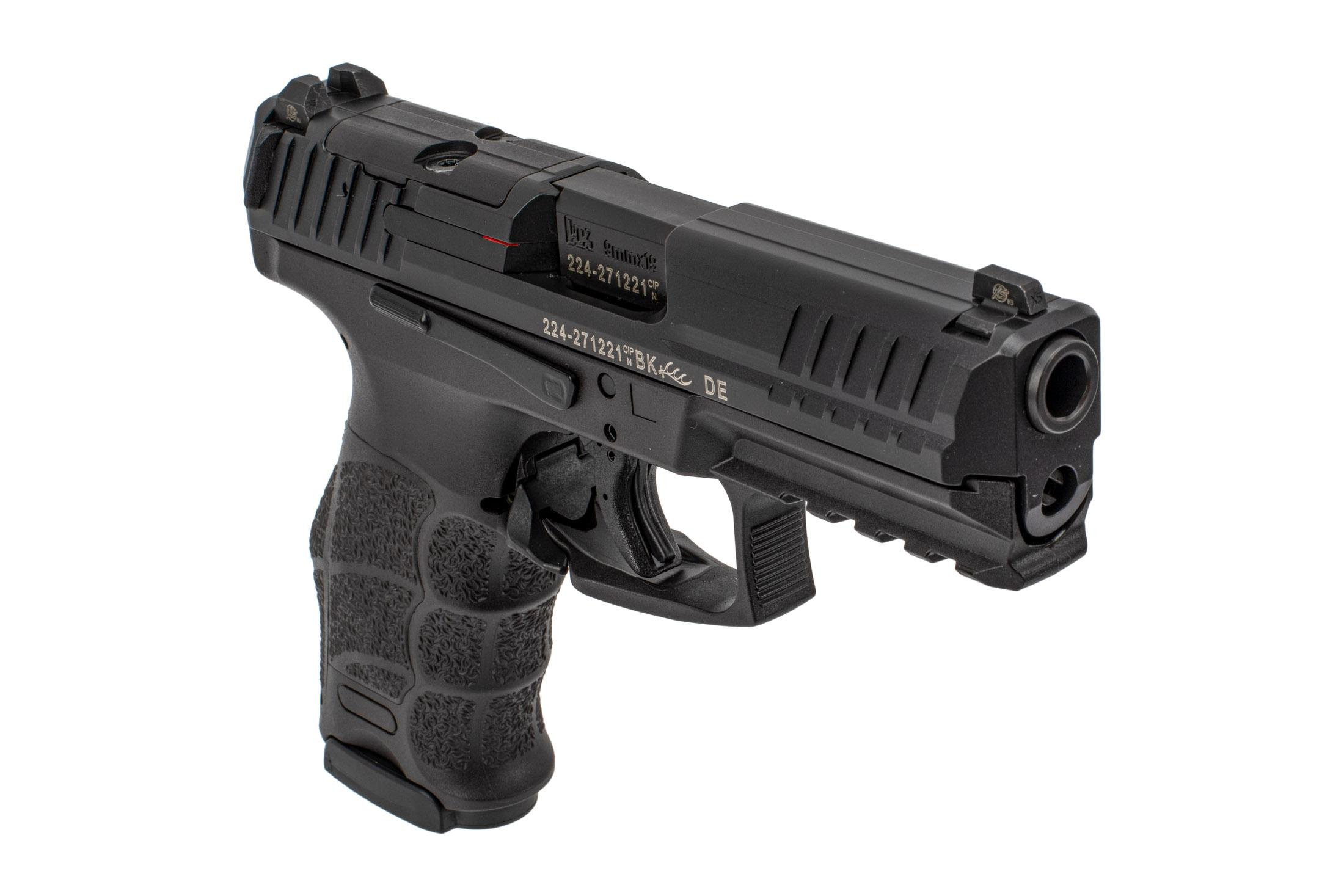Heckler & Koch VP9 Optics Ready 9mm pistol comes with steel three dot sights
