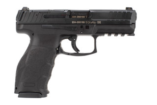 H&K VP9 Optics Ready 9mm Pistol features a polymer frame