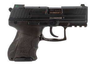 9mm P30SK Pistol from H&K has a black Polymer grip