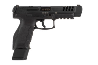 HK VP9 L optics ready 9mm competition pistol comes with three 20 round magazines