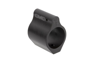 CMC Triggers low profile .750in AR-15 gas block is precisely machined from 17-5 precipitation hardened stainless steel