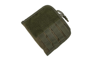 The Red Rock Outdoor Gear Olive Drab Green Admin Pouch is compatible with MOLLE