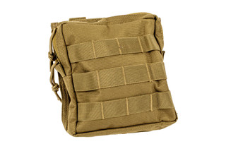 The Red Rock Outdoor Gear Medium Utility pouch is made from durable coyote brown Nylon