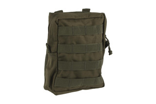 The Red Rock Outdoor Gear Large Utility Pouch is made from Olive Drab Green