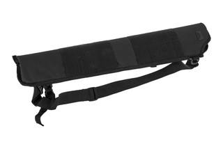 The Red Rock Outdoor Gear Shotgun Scabbard in Black Nylon features MOLLE webbing