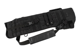 The Red Rock Outdoor Gear Black Rifle Scabbard is made from durable Nylon with MOLLE webbing
