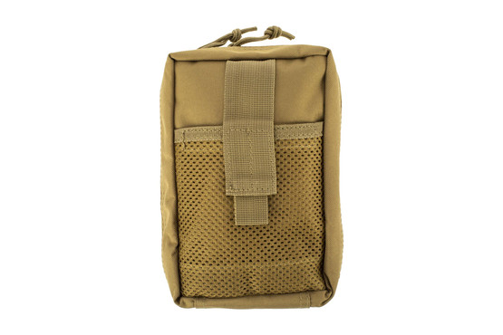 The Red Rock Outdoor Gear Tactical Trauma Kit comes in Coyote Brown