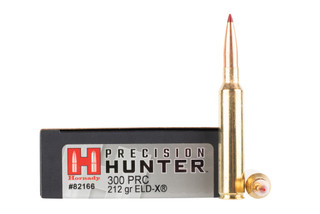 Hornady 300 PRC ammo is loaded with the ELD-X match grade bullet