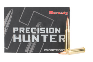 Hornady Precision Hunter 338 Lapua Magnum features the ELD-X bullet