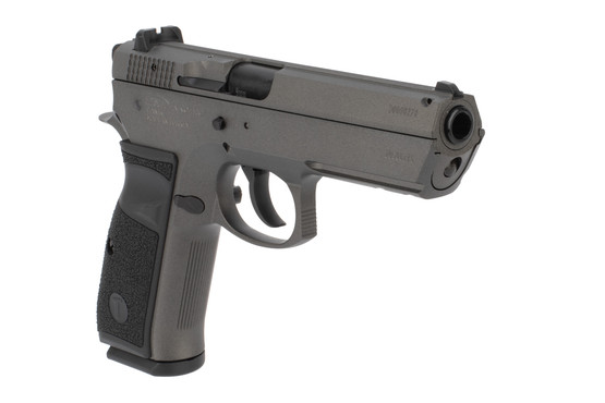Tristar T-120 9mm full size pistol features a 4.7 inch barrel