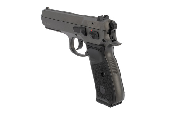 Tristar T-120 full size 9mm pistol comes with two 17 round magazines