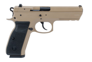Tristar T-120 9mm pistol comes in flat dark earth